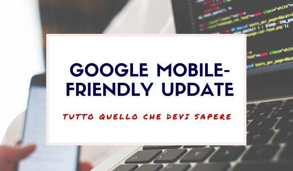nuovo algoritmo google mobile